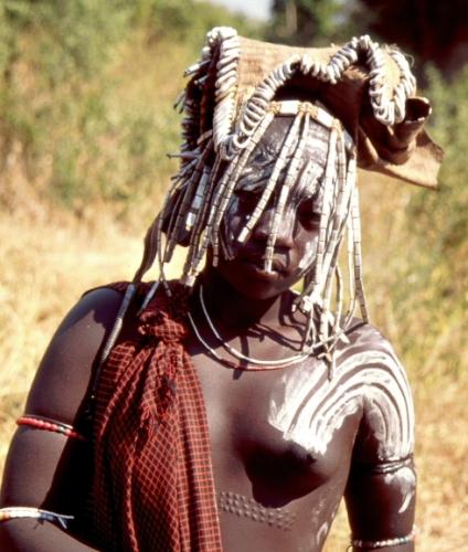 Ethiopia - South 076 - Mursi tribe