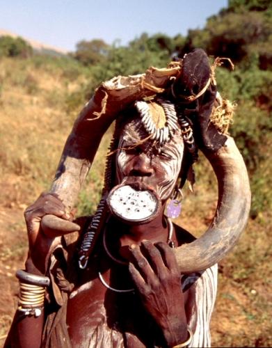 Ethiopia - South 077 - Mursi tribe