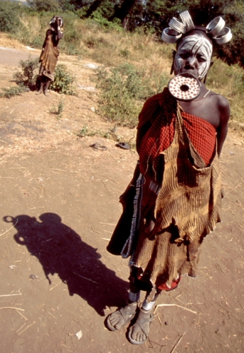 Ethiopia - South 080 - Mursi tribe