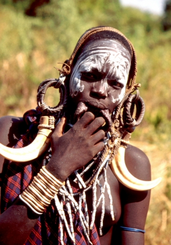 Ethiopia - South 081 - Mursi tribe