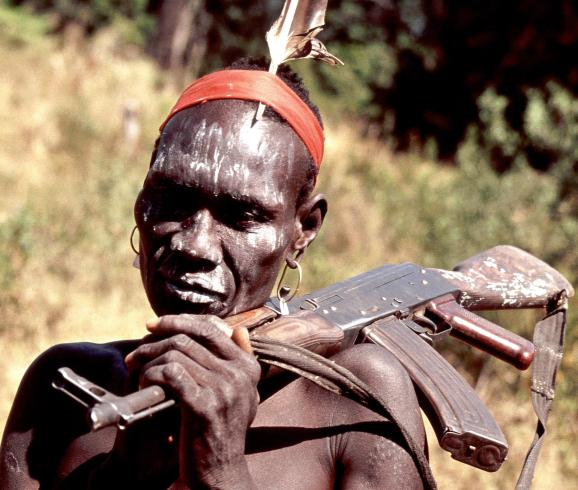 Ethiopia - South 084 - Mursi tribe