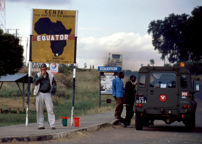 Kenya 001 - Equator line