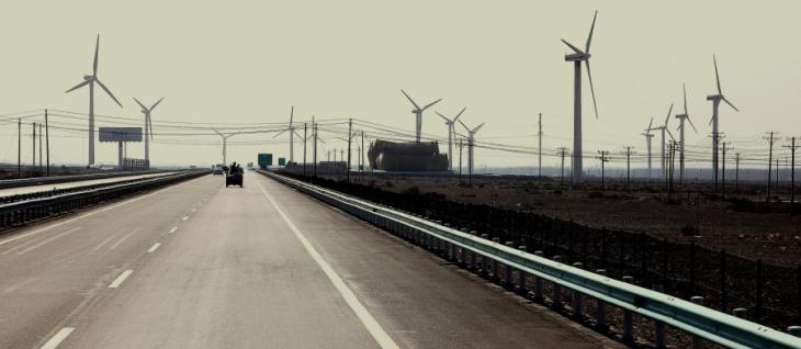 China - Xinjang 002 - On the road to Turpan