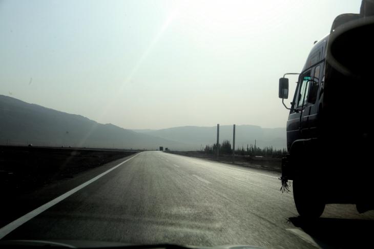 China - Xinjang 049 - On the road to Tuyoq